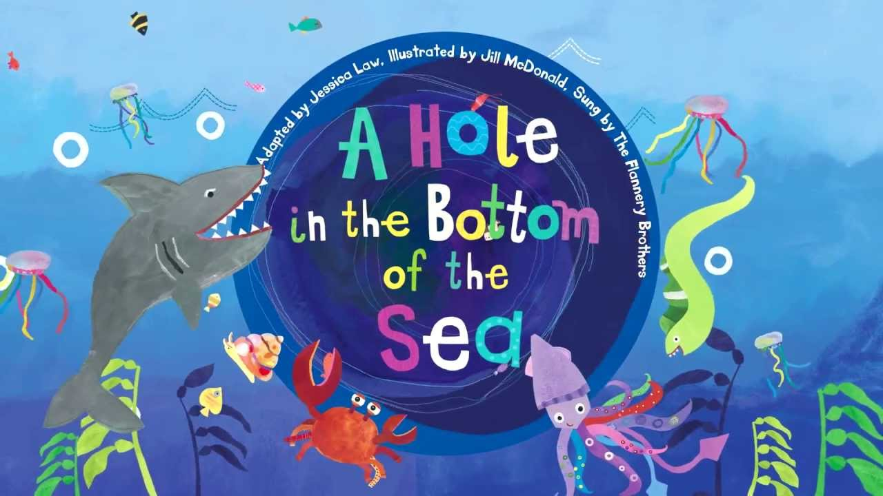 hole of A sea the bottom at the