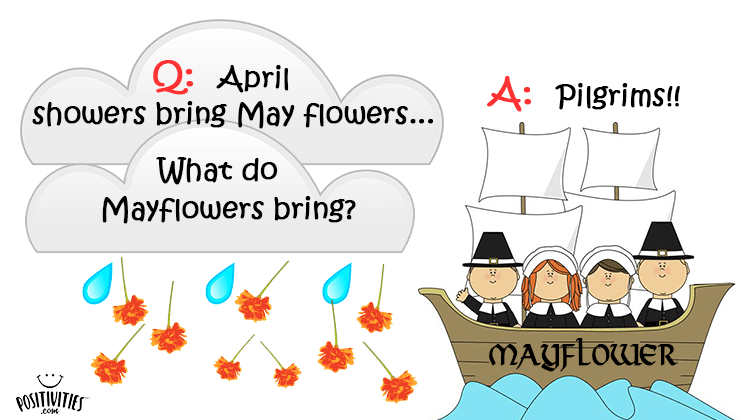 April showers bring May flowers…What do Mayflowers bring
